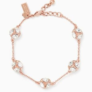 kate spade lady marmalade bracelet rose gold NWT